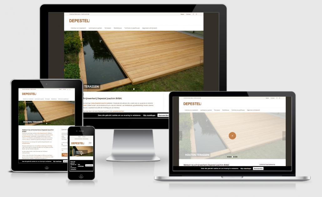 Website Joachim Depestel