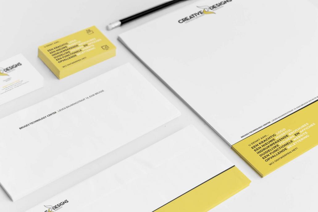 Logo en huisstijl Creative Designs