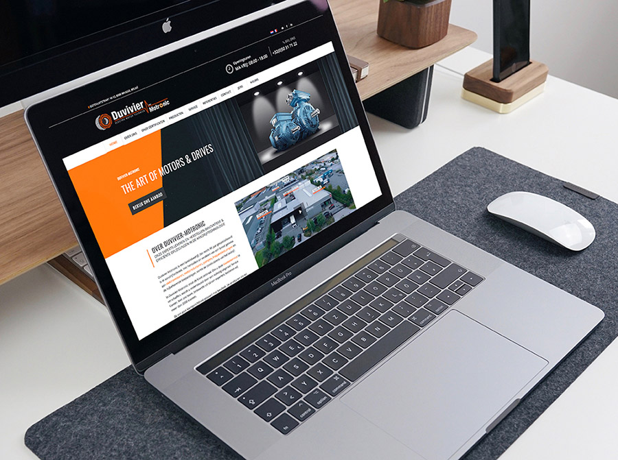 Website Duvivier-Motronic