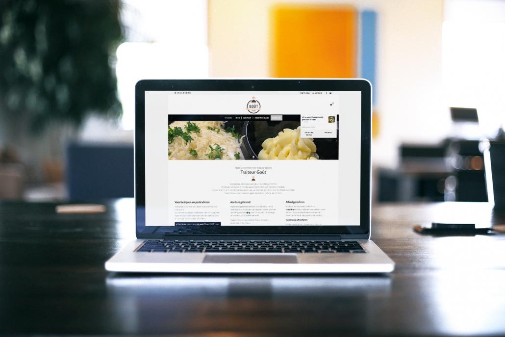 Traiteur Goût Website