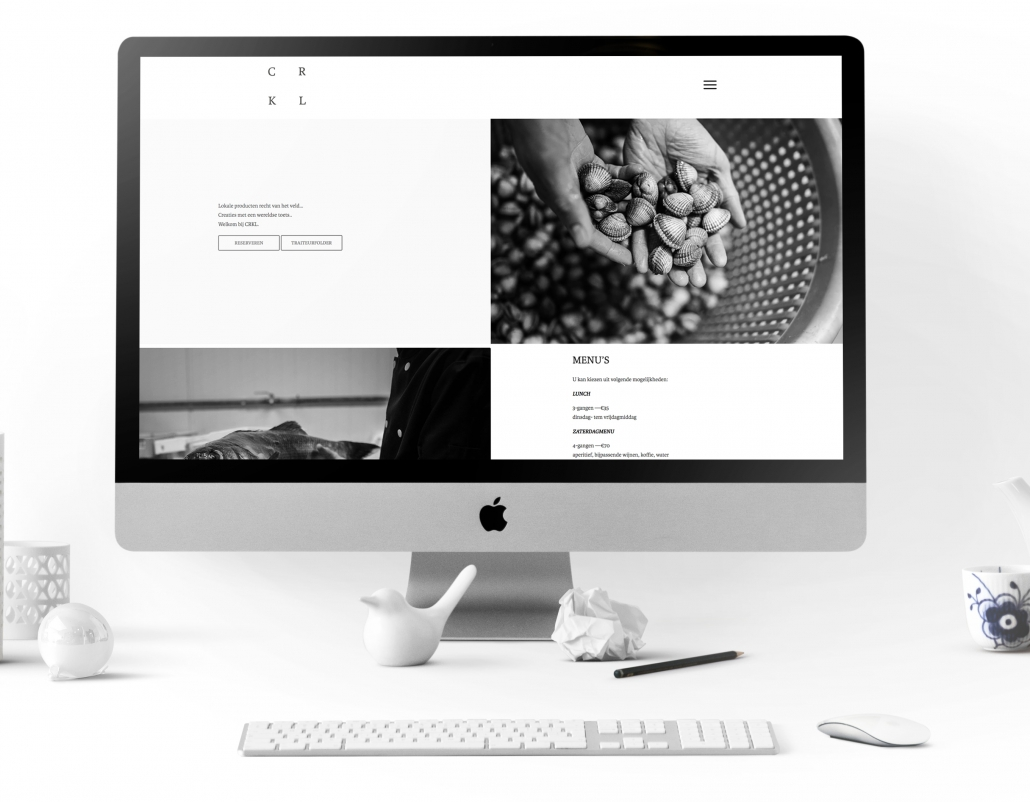 Website restaurant CRKL